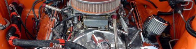 silnik w aucie